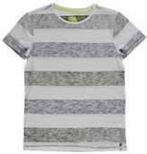 Manguun Reverse Stripe Slub T-Shirt
