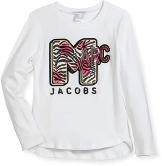 Little Marc Jacobs MTV Logo Long-Sleeve T-Shirt, Size 6-10