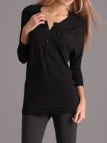 David Lerner Pocket Button Tee