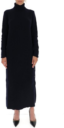 Marni Ribbed Turtleneck Dress