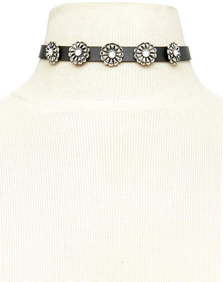 Forever 21 Faux Leather Choker