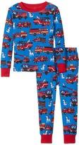 Hatley Fire Trucks PJ Set Boy's Pajama Sets