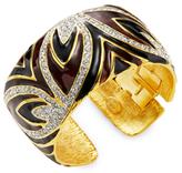 Kenneth Jay Lane Rhinestone Cuff Bracelet