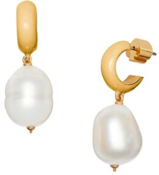 Kate Spade Candy Drops Pearl Drop Huggie Earrings