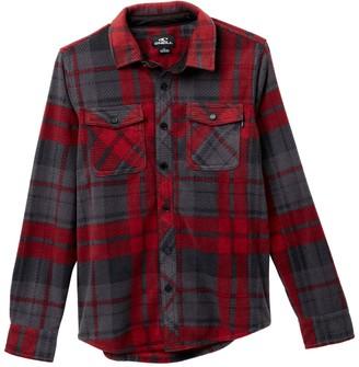 O'Neill Glacier Plaid Superfleece Shirt (Big Boys)