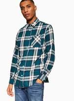 TopmanTopman JACK & JONES Green 'Colby' Check Shirt