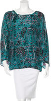 Figue Printed Silk Top