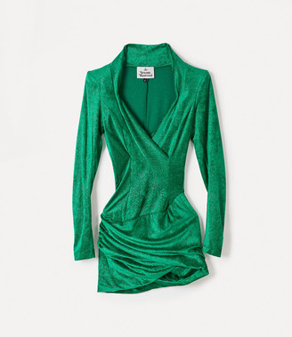 Vivienne Westwood Sara Dress Green
