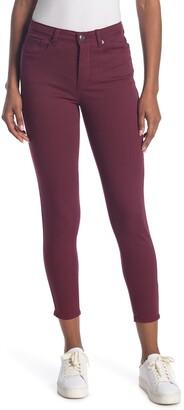 ModCloth Burgundy Skinny Jeans