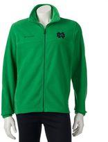 Columbia Men's Notre Dame Fighting Irish Flanker II Full-Zip Fleece