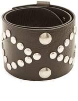 Isabel Marant Zikka stud-embellished leather belt
