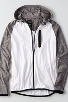 American Eagle Outfitters AE Flex Colorblock Zip-Up Hoodie