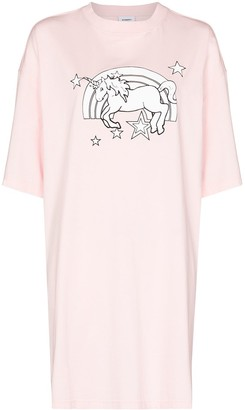 Vetements unicorn print cotton T-shirt