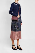 Markus Lupfer Printed Pleated Skirt