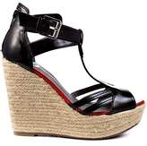 G by Guess Talloys Women Peep Toe Synthetic Wedge Heel.