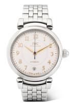 IWC SCHAFFHAUSEN Da Vinci Automatic 36 Stainless Steel Watch - Silver