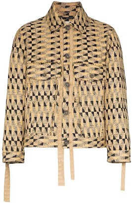 Song For The Mute Fringed Woven Jacket