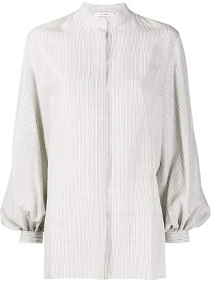 The Row Pin-Stripe Blouse