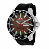 Seapro Sea-Pro Scuba Diver Limited Edition Mens Black Strap Watch-Sp8315