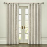 Crate & Barrel Reid Natural Curtain Panel