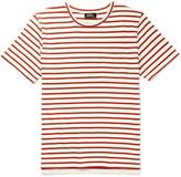 A.p.c. - Ken Striped Cotton-jersey T-shirt