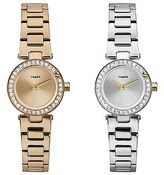 Timex Women's Starbright Crystal Numerals Fashion Bracelet Dress Watch