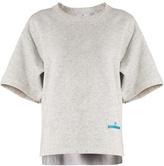 adidas by Stella McCartney Short-sleeved performance sweatshirt