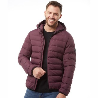 French Connection Mens Row 2 Hooded Jacket Chateaux