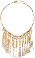 Jules Smith Designs Pearly Chain Fringe Necklace