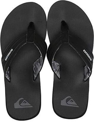 Quiksilver Island Oasis (Black/Grey/White) Men's Skate Shoes
