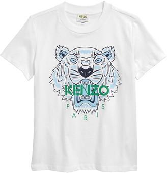Kenzo Kids' Tiger Graphic Tee