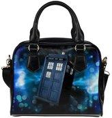 Angelinana Custom Women's Handbag Doctor Who Tardis 2 Fashion Shoulder Bag
