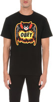 Obey Pulp Comic Cotton-jersey T-shirt