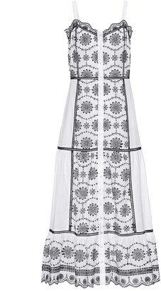 Veronica Beard Sasha cotton broderie anglaise dress