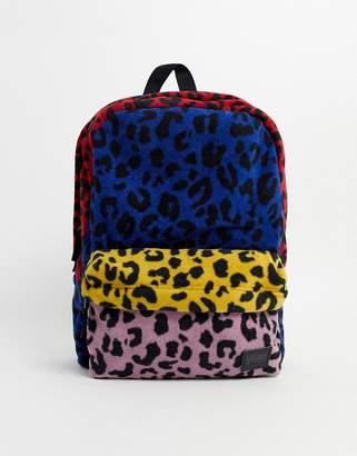 Vans Deana III Backpack in leopard patchwork-Multi