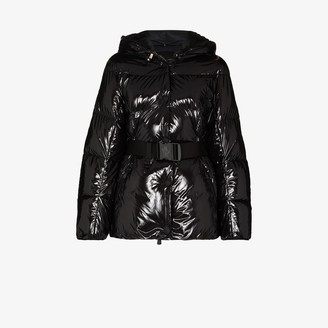 MONCLER GRENOBLE Padded Belted Down Jacket