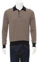 Gucci Striped Polo Sweater