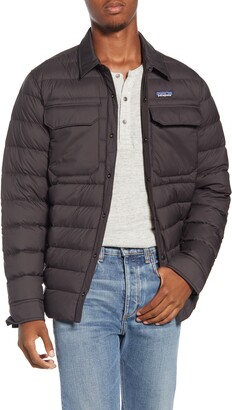 Patagonia Silent Water Repellent 700-Fill Power Down Shirt Jacket