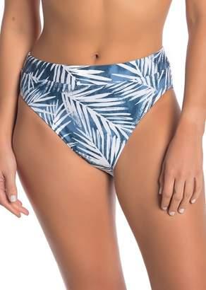 Splendid Stormy High Leg High Waist Bikini Bottoms
