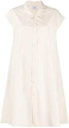 Aspesi Cotton Button-Up Shirt Dress
