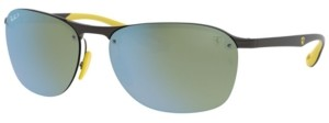 Ray-Ban Polarized Sunglasses, RB4302M 62