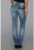 Blank NYC The Legacy Embroidered Straight Leg in Ice Pick