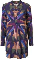 Mara Hoffman geometric print dress - women - Rayon/Viscose - S