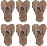 NkBk 6 One Size Coloured Terry Velour SPA Slippers