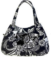 Vera Bradley Midnight Paisley Triple-Compartment