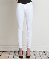 Henry & Belle Optic Ideal Skinny Ankle Jeans