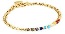 Astley Clarke Women's 14K Yellow Gold Vermeil & Multi-Stone Dual-Chain Bracelet