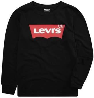 Levi's Long Sleeve Batwing T-Shirt (Little Boys)
