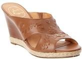 Jack Rogers Sophia Leather Wedge Sandal.