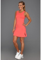 Reebok Outaced Tennis Dress (Coral Contrast) - Apparel
